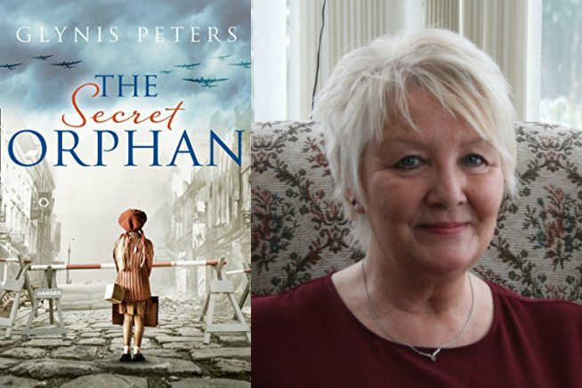 Photo of Glynis Peters and the cover of her new book
