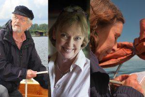 Photos of panelists Peter Willis, Sophie Neville and Julia Jones