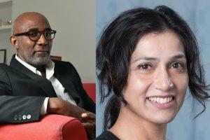 Image of Trevor Phillips and Professor Shohini Chaudhuri