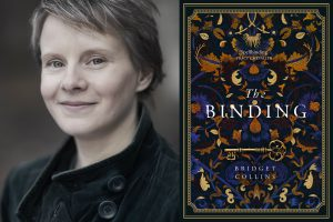 A picture of Bridget Collins and her new novel