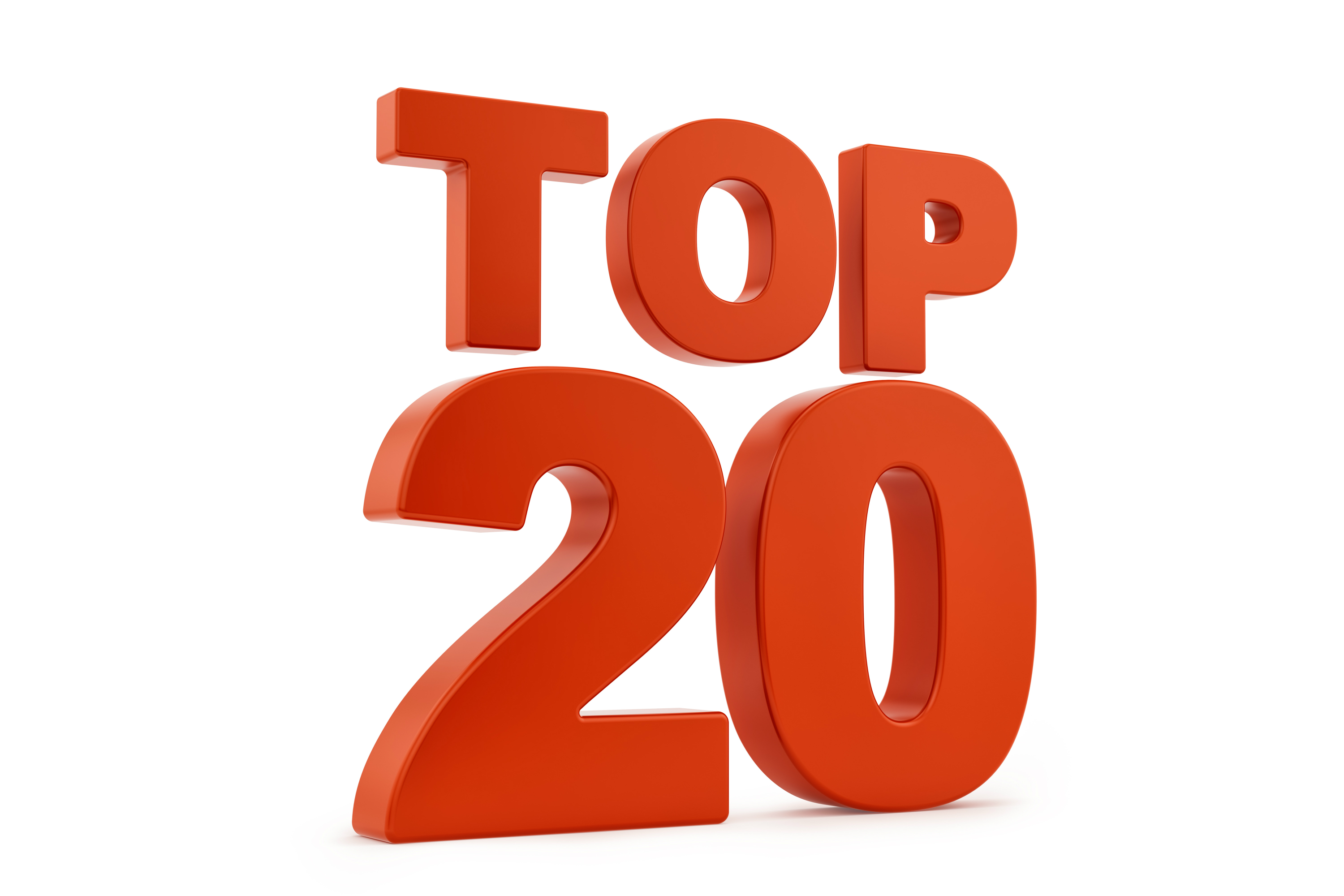 Top 20 graphic