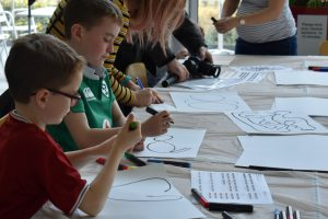 Children at our Science & The Imagination Day