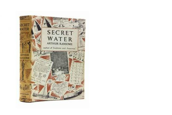 An picture of Secret Waters , the book by Arthur Ransome