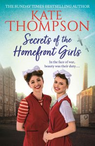 Secrets of the Homefront Girls book cover
