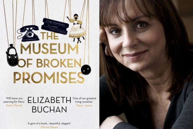 Elizabeth Buchan and Museum of Broken Promises cover