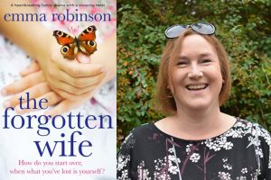 Emma Robinson and The Forgotten Wife cover
