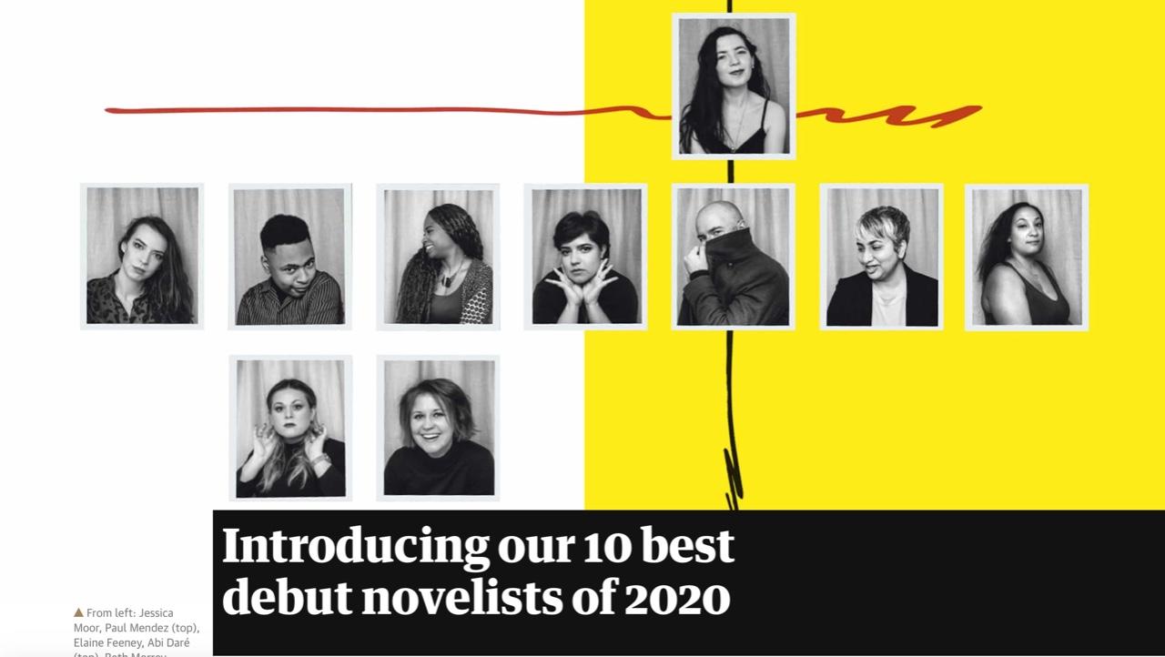 Observer top 10 debut novelists 2020