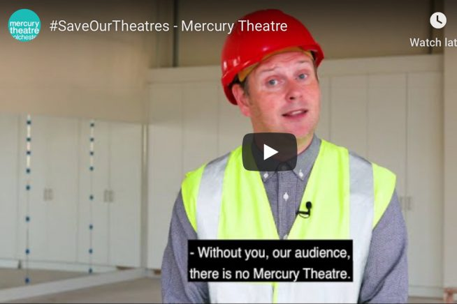 Mercury Theatre crowdfunder